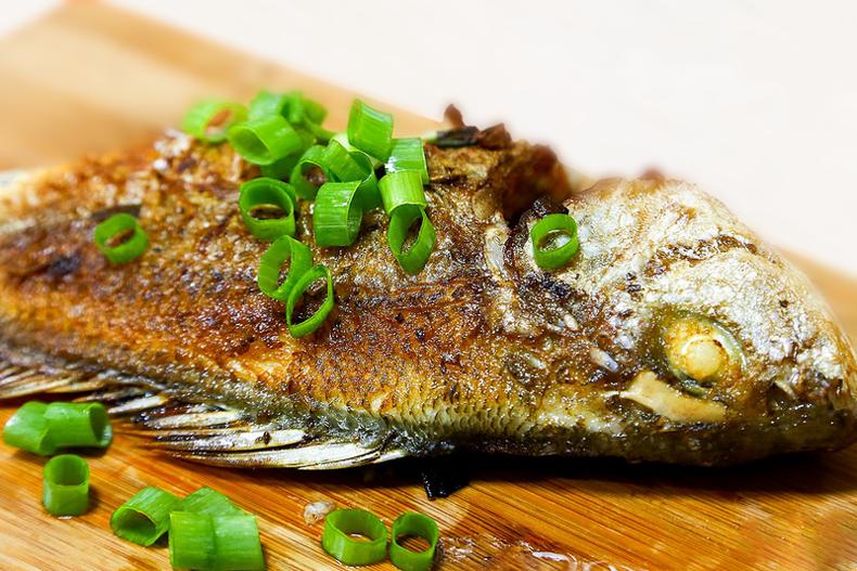 香煎星雞魚