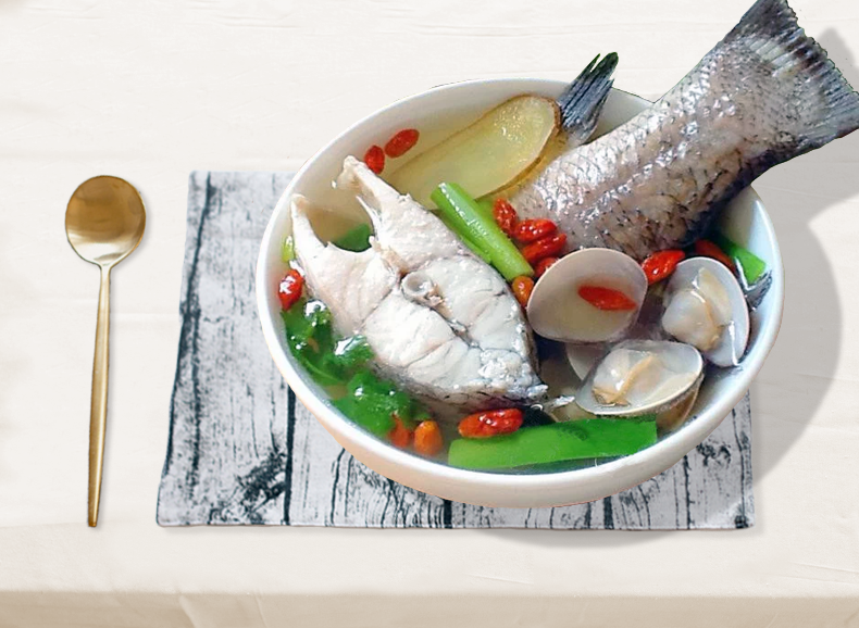 清燉鱸魚湯